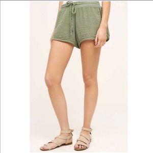 Anthropologie Shorts - Anthropologie NWT Cloth & Stone Drawstring Shorts